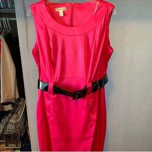 Hot pink dress 🔥